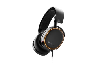 SteelSeries Arctis 5 Gaming Headset (Black, 2019 Edition)
