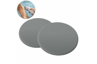 2PK Philips BCR372/00 Replacement Pedi Pads Disk/Discs Foot File Callus Care GRY