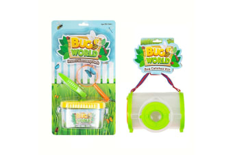 7pc Bugs World Insect Discovery & Bug Catcher w/ Container/Magnifier Toys Kit