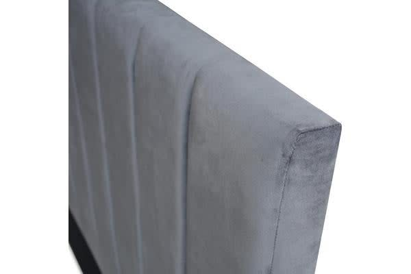 Queen Size Fabric Bed headboard (Charcoal)