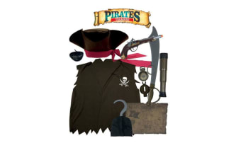 Role Play Adventures Pirate Role Play Dress Up Set - 3+