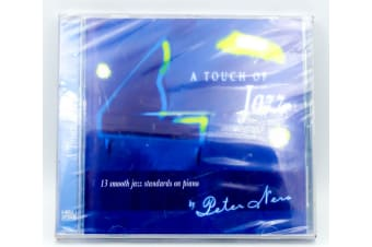 A Touch Of Jazz BRAND NEW SEALED MUSIC ALBUM CD - AU STOCK
