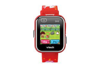 Vtech Kidizoom Smartwatch DX2.0 Red with Unicorns