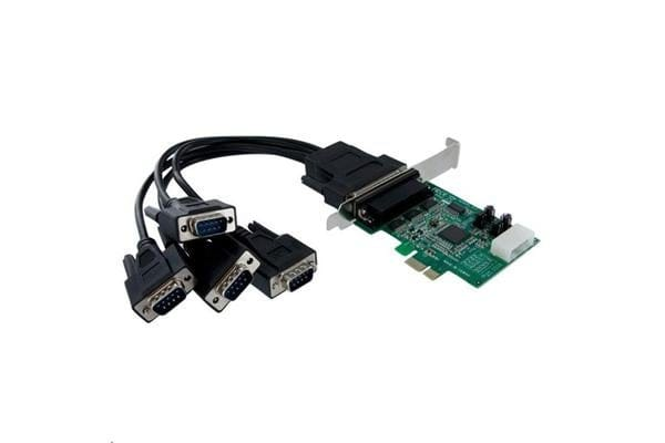 STARTECH PEX4S952 4 Port PCIe RS232 Serial Adapter Card
