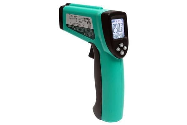 ProsKit Dual Infrared Laser Point Thermometer Range -50 to 580 Celsius adjustable emissivity