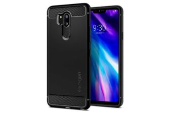 Spigen LG G7 ThinQ Rugged Armor Case Black
