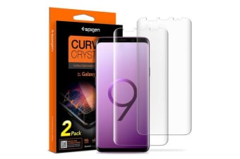 Spigen Galaxy S9+ Film Curved Crystal HD Screen Protector