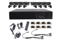 8 Channel 8 Camera Hd Dvr Home Security System With 1tb Hdd Installed