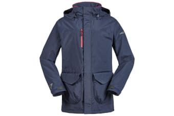 Musto Unisex Corsica BR1 Long Length Jacket (True Navy/Red) (S)