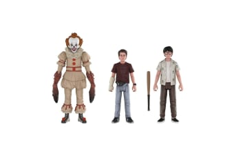 It (2017) Pennywise, Richie & Eddie Action Figure 3 Pk