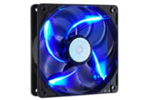Coolermaster SickleflowX, Blue LED Fan 120mm,19dBA, 3Pin, Sleeve Bearing