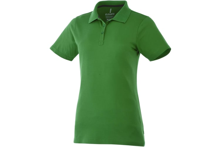 Elevate Primus Short Sleeve Ladies Polo (Fern Green) (XL)