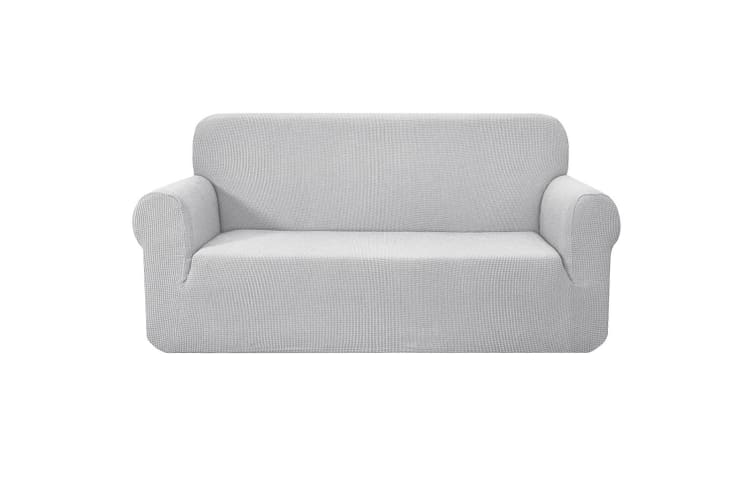 Artiss High Stretch Sofa Cover Couch Lounge Protector Slipcovers 3 Seater  Grey