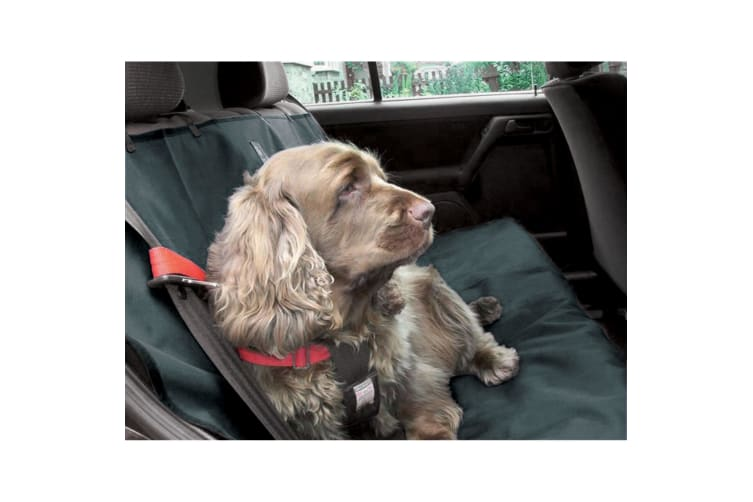Danish Design Pet Products Waterproof Car Seat Cover (Charcoal Grey) (140 x 115cm)