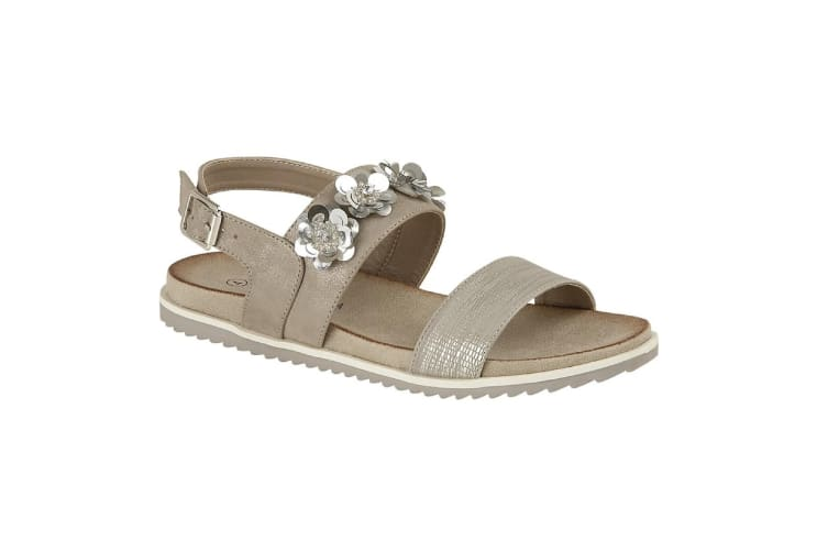 Cipriata Womens/Ladies Angela Sandals (Stone) (4 UK)