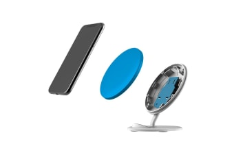 QI Wireless Charger For iPhone 11 Samsung Galaxy S20 S20+ S10+ Turquoise