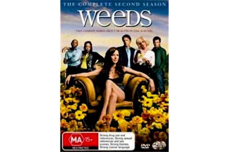Weeds : Season 2 -Comedy Series Rare- Aus Stock DVD PREOWNED: DISC LIKE NEW