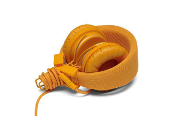 Urbanears Plattan Pumpkin On Ear Headphones Headset Mic for IOS Apple/Android