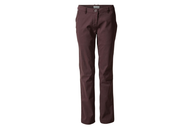 Craghoppers Womens/Ladies Kiwi Pro Trousers (Port) (16R UK)