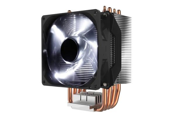 Cooler Master Hyper H411R CPU Cooler with 92mm White LED PWM Fan