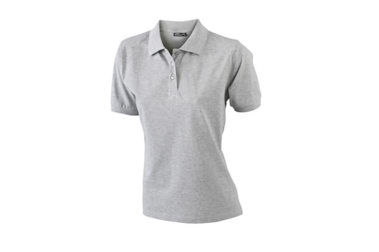 James and Nicholson Womens/Ladies Classic Polo (Grey Heather) (L)