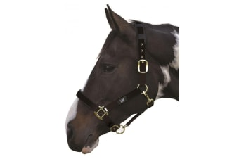 Hy Deluxe Padded Head Collar (Black)