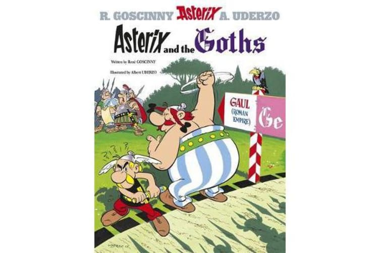 Asterix: Asterix and the Goths - Album 3