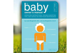 The Baby Owner`s Manual – Paperback Book For New Parents Funny Instructive Guidelines For Newborns