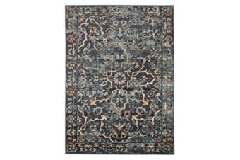 Mayfair Stem Navy Rug 230X160cm
