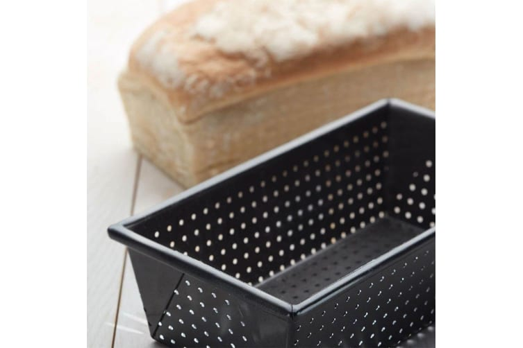 Mastercraft Loaf Bread Pastry Baking Rectangle Mold Mould Tin Bakeware Box Pan