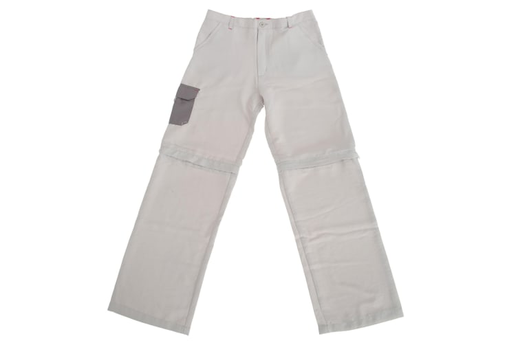Regatta Great Outdoors Childrens/Boys Sorcer Zip-Off Trousers (Platinum) (7-8 Years)