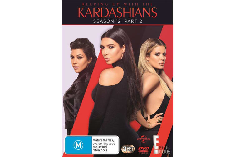 Keeping Up With the Kardashians Season 12 Part 2 DVD Region 4