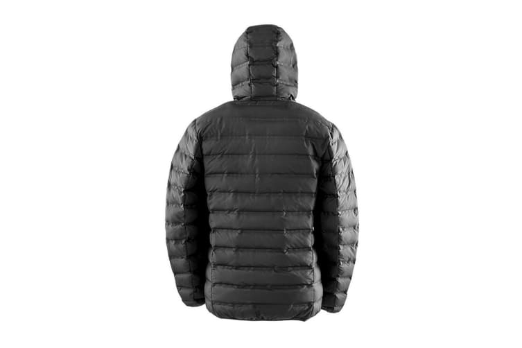 Result Urban Mens Hooded Ultrasonic Jacket (Black) (S)