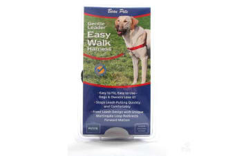 Gentle Leader Ewalk Harness Red - Medium-large