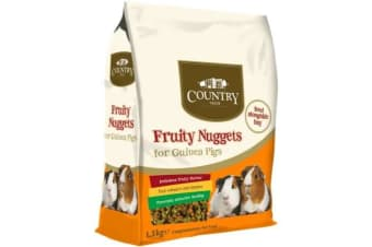 Country Value Guinea Pig Fruity Nuggets (Brown) (1.5kg)