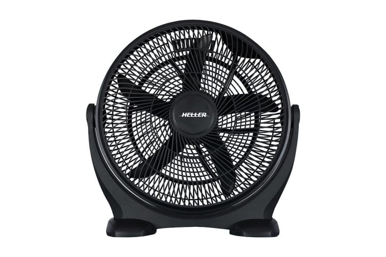 Heller 50cm High Velocity Floor Fan - Black (HVF50B)