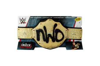 WWE NWO World Heavyweight Championship Toy Belt