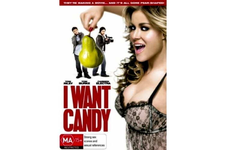 I Want Candy -Comedy Region 4 Rare- Aus Stock DVD PREOWNED: DISC LIKE NEW