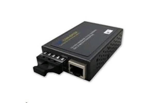 CTS Compact Gigabit Media Converter 10/100/1000Base-TX RJ45 to 1000Base-SX SC Multi-Mode Fibre