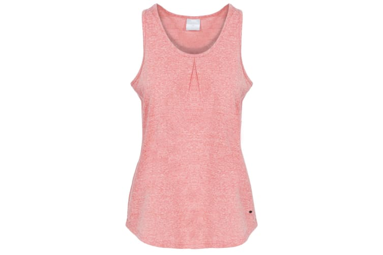 Trespass Womens/Ladies Fidget Sleeveless Vest (Peach Marl) (M)