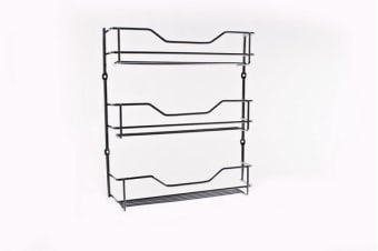 D.Line 3 Tier Chrome Spice Rack