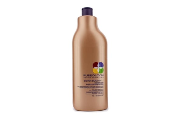 Pureology Super Smooth Condition (For Unmanageable Colour-Treated Hair) (New Packaging) (1000ml/33.8oz)