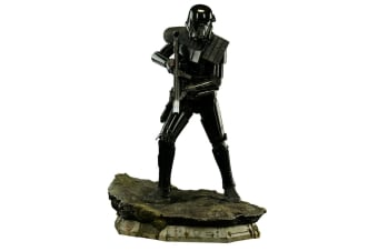 Star Wars Rogue One Death Trooper Special Prm Format 1:4 Sta