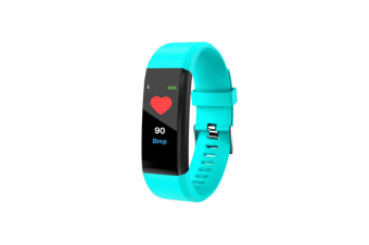 115Plus Intelligent Hand Ring Heart Rate Blood Pressure Waterproof Step Motion Green