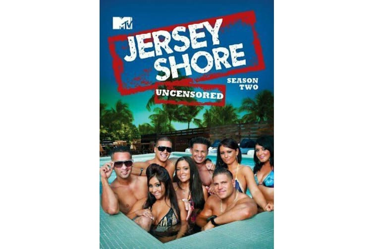 Jersey Shore: Season 2  - Series Region 4 Rare- Aus Stock DVD  PREOWNED: DISC LIKE NEW