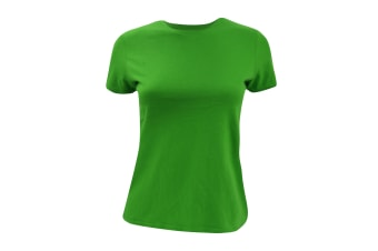 B&C Womens/Ladies Short Sleeve T-Shirt (Real Green) (XS)