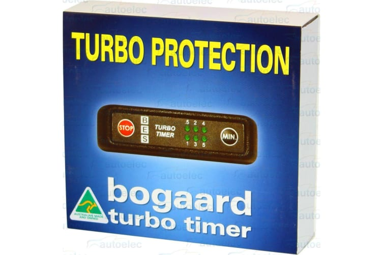 BOGAARD TURBO TIMER KIT FOR SUIT TOYOTA 78 SERIES PLUG & PLAY HARNESS 925/LC79RV