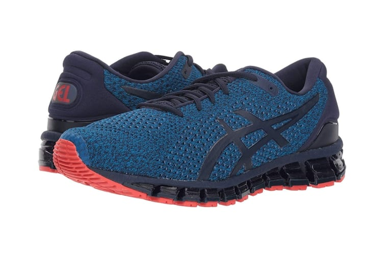 ASICS Men's Gel-Quantum 360 KNIT 2 Running Shoe (Race Blue/Peacoat, Size 7.5)