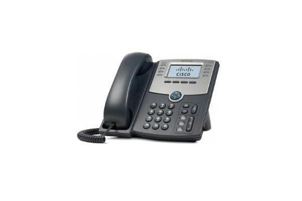 CISCO 8 Line IP Phone With Display PoE and PC