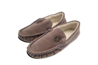 Chelsea FC Mens Moccasins (Grey) (11/12 UK)